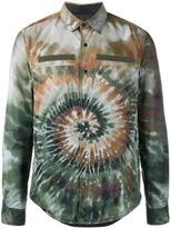 Valentino 'Tie&Dye' shirt jacket - men - Polyamide/Polyester - S