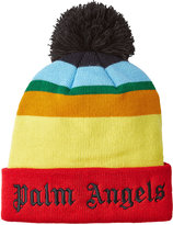 Palm Angels Acrylic Beanie with Logo