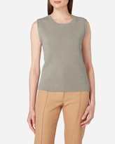 N.Peal Milano Sleeveless Cashmere Top