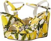 Dolce & Gabbana Sandalo Zeppa Broccatto