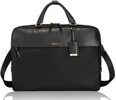 Tumi Westport Slim Nylon & Leather Briefcase - Black