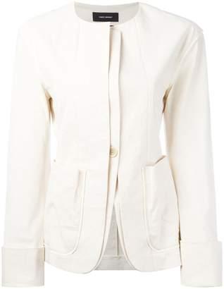 Isabel Marant collarless layered blazer