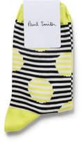 Paul Smith Chloe Striped Dots Sock
