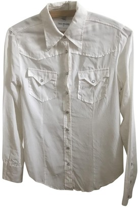 True Religion White Silk Top for Women