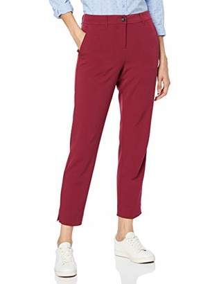 Tom Tailor Casual Women's Mia Slim Trouser, (Tile Red 188), 16 (Size: )