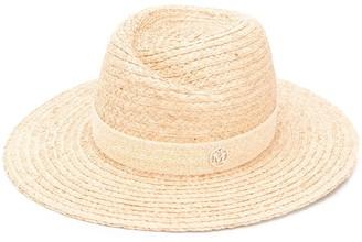 Maison Michel Virginie raffia fedora hat