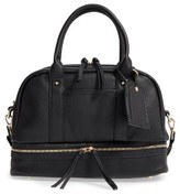 Sole Society Mai Mini Faux Leather Satchel - Black