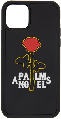 Palm Angels Black Rose iPhone 11 Pro Case