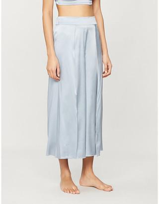 Myla Covent Garden silk-satin trousers