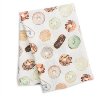 Lulujo - Swaddle Blanket Bamboo Cotton - Donuts