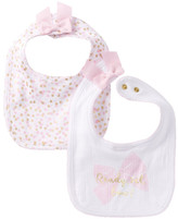 Kate Spade ready set bow bib set - pack of 2 (Baby Girls)