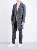 Brunello Cucinelli Double-breasted wool-blend tweed coat