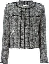 Etoile Isabel Marant 'Laura' bouclé jacket - women - Cotton/Linen/Flax/Polyamide/other fibers - 38