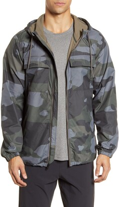 Alo Stride Camo Hooded Jacket