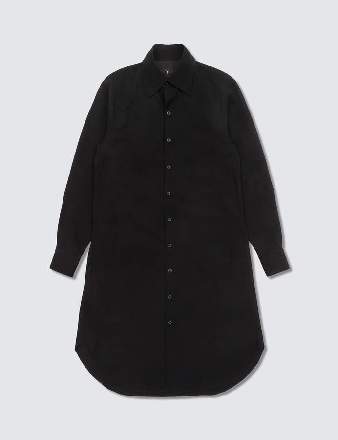 Y's Black Long Shirt