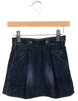 Little Marc Jacobs Girls' A-Line Denim Skirt
