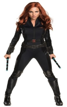 BuySeasons Buy Seasons Women's Marvel's Captain America: Civil War Widow Secret Wishes Costume