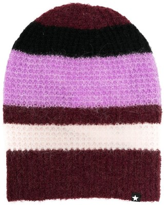 Molo Striped Knitted Beanie