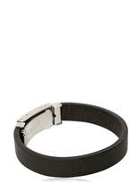 Dolce & Gabbana Dauphine Leather Plaque Bracelet