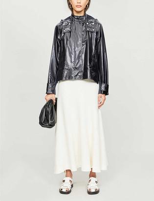 Sportmax Numana hooded shell jacket