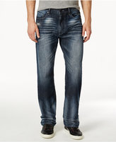 Sean John Men's Hamilton Relaxed Fit Jeans, Medium Repair
