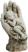 Asstd National Brand 11.25 In The Palm Of His Hand Outdoor Statue