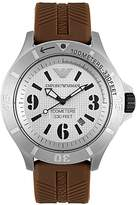 Emporio Armani Men's AR0628 Sport Collection Stainless Steel Dial Watch