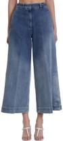 L'Autre Chose Lautre Chose LAutre Chose Jeans In Cyan Denim