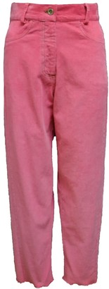 The Avant The Hot Pink Corduroy Trousers