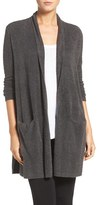 Women's Barefoot Dreams Cozychic Lite Long Essential Cardigan