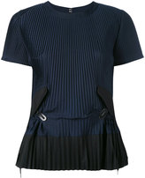 Sacai pleated top