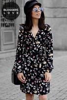 Girls On Film Floral Print Dress