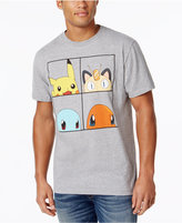 Bioworld Men's Pokémon Graphic-Print T-Shirt
