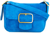 Tory Burch Sawyer shoulder bag - women - Suede - One Size