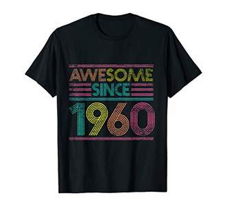 Awesome Since 1960 59th Birthday Gifts 59 Years Old T-Shirt