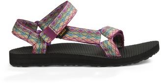 Teva Women's W Original Universal Sandal Miramar Fade Dark Purple/Multi 6 M US