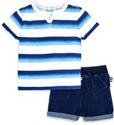 Splendid Boys' Ombré Stripe Tee & Shorts Set - Baby