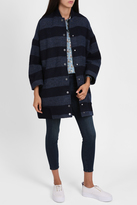 Paul & Joe Sister Stripe Cocoon Coat
