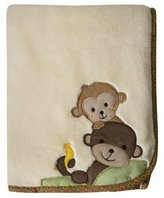 Bedtime Originals Lambs & Ivy Curly Tails Blanket