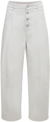 MM6 MAISON MARGIELA High Waist Straight Denim Jeans