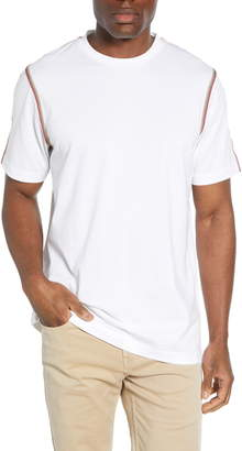 Bugatchi Web Stripe T-Shirt
