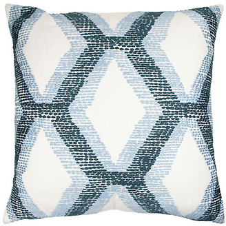 The Piper Collection Kandice 22x22 Pillow - Blue