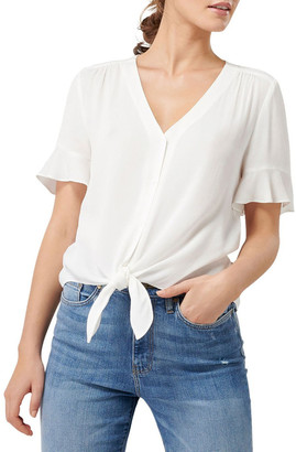 Forever New Spencer Flutter Sleeve Top