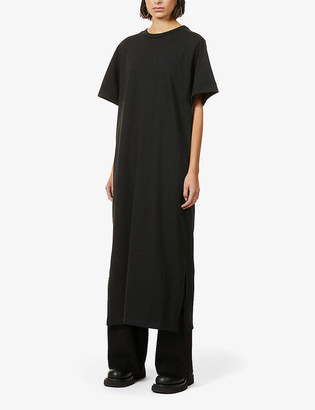 The Row Aprile oversized cotton maxi dress