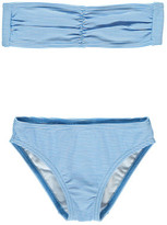 Douuod Sale - Customista Striped 2P Bandeau Swimsuit