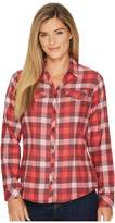 Columbia Simply Puttm II Flannel Shirt Women's Long Sleeve Button Up