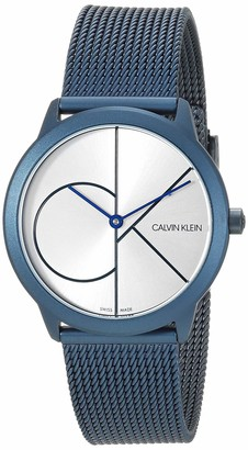 Calvin Klein Midsize Minimal Unisex Mesh Bracelet With Logo