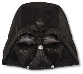 Star Wars Darth Vader Sparkle Decorative Pillow (14X16.5X5 ) Black