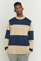 Stussy Bold Stripe Khaki Shirt