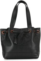 Chanel Pre Owned 2002 CC drawstring tote